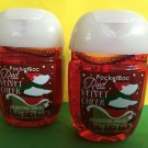 Bath & Body Works 2 Red Velvet Cheer Anti Bacterial Hand Gel