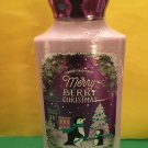 Bath & Body Works Merry Berry Christmas Lotion Full Size
