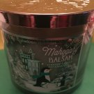 Bath & Body Works Mahogany Balsam 3 Wick Candle Large