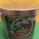 Bath and Body Works Provence Garden 3 Wick Candle Large