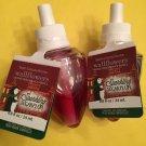 Bath & Body Works 2 Sparkling Sugar Plum Wallflower Refill