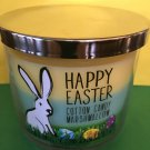 Bath & Body Works Happy Easter 2016 Triple Color Cotton Candy 3 Wick Candle Large