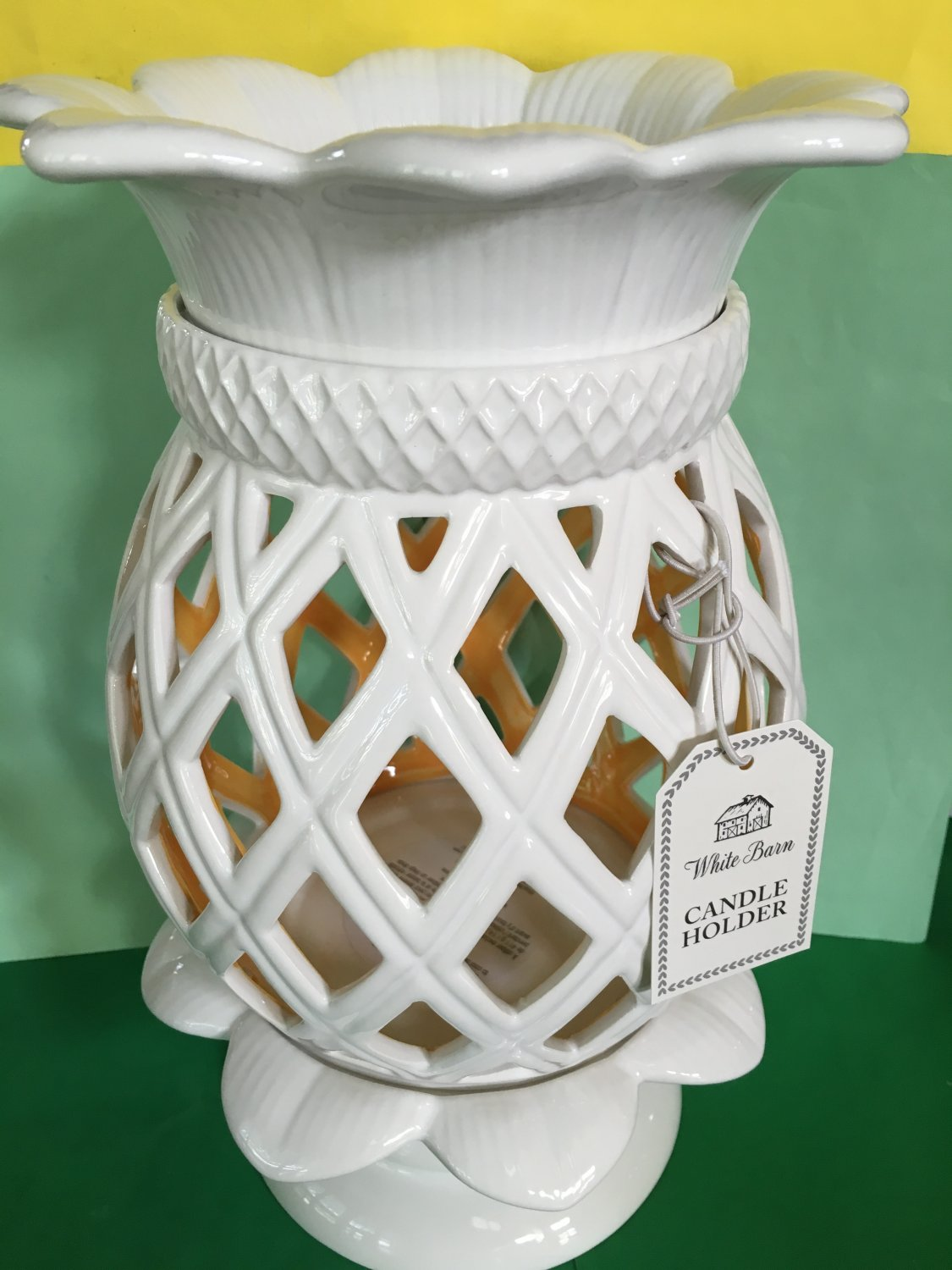 Bath And Body Works Pineapple White Amp Yellow Large