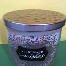 Bath & Body Works Thousand Wishes Candle 3 Wick Large