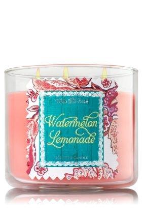 Bath & Body Works Watermelon Lemonade Large 3 Wick Candle