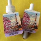 Bath & Body Works 2 Lavender Macaron Wallflower Refill Bulbs