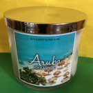 Bath and Body Works Aruba Oceanside 3 Wick Candle Large