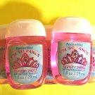 Bath & Body Works 5 I am so Fancy Raspberry Sparkle Anti Bacterial Hand Gel