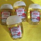 Bath & Body Works 4 Sweet Strawberries and Cream Anti Bacterial Hand Gel