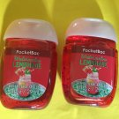Bath & Body Works 2 Watermelon Lemonade Anti Bacterial Hand Gel