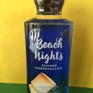 Bath & Body Works Beach Nights Marshmallow Shower Gel Full Size