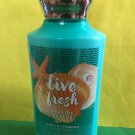 Bath & Body Works Live Fresh Body Lotion Full Size