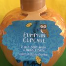 Bath and Body Works Pumpkin Cupcake 2 in 1 Body Wash Large