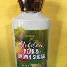 Bath & Body Works Golden Pear and Brown Sugar Body Lotion Full Size