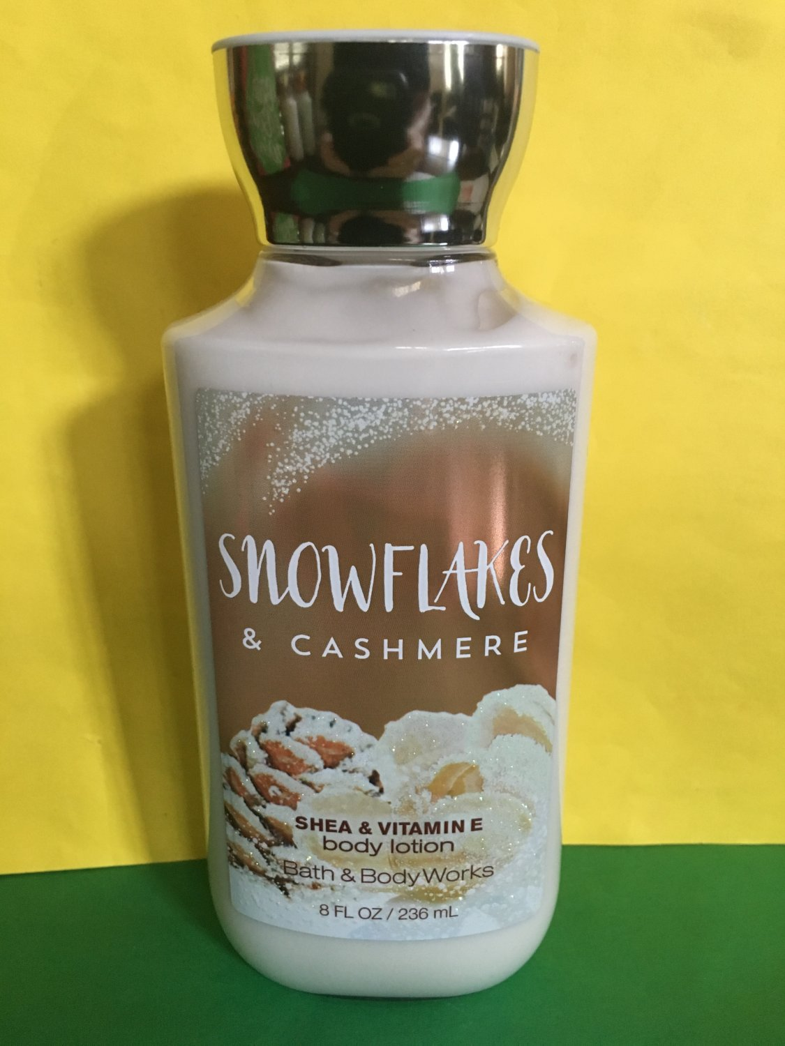 Bath Amp Body Works Snowflakes And Cashmere Body Lotion Full