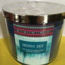 Bath & Body Works Indigo Sky 3 Wick Candle Large