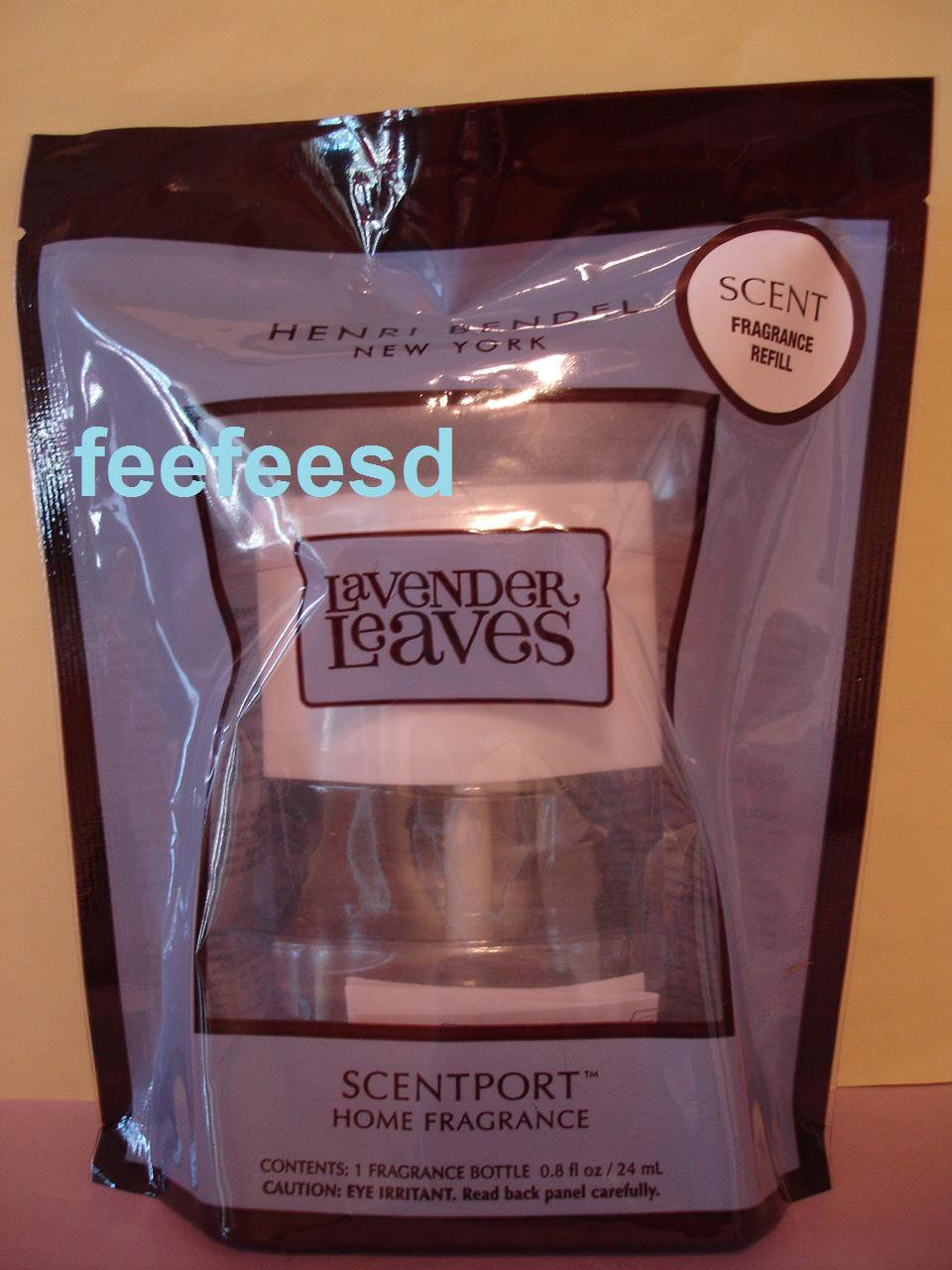 Bath & Body Works 1 Henri Bendel Lavender Leaves Scentport Refill Bulb