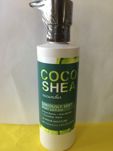 Bath & Body Works Coco Shea Cucumber Lotion Large 7.8 oz
