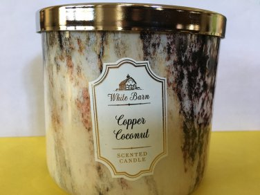 Bath & Body Works Copper Coconut 3 Wick Cande Large