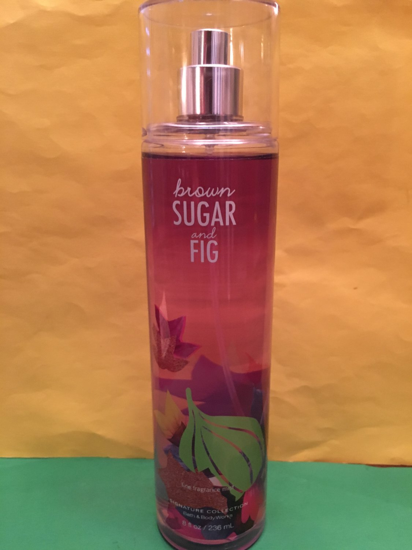 Bath and Body Works Brown Sugar & Fig Fine Fragrance Mist Splash Large Full Size
