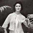 Dreamy Sweater Jacket Knitting Pattern 726010
