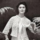 Dreamy Sweater Jacket Knitting Pattern 726010