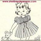Crocheted Child's Dress Pattern Vintage 1947 - 723008