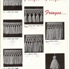 Fringes and Tassels-How to Make Them - 722001