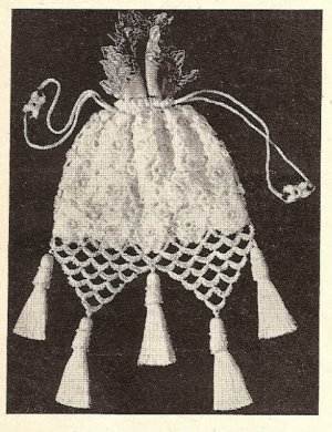 Gorgeous Evening or Anytime Bag/Purse Crocheted Pattern Vintage - 723010