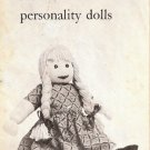 How to Make Personality Dolls Vintage 727006