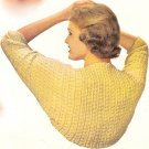 Shrug Crochet Pattern Vintage 1953 - 723013
