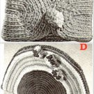 2 Crocheted Purses'-Handbags' Patterns Vintage 723031