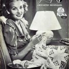 Lily Crocheted Bedspread Patterns, Vintage 1937, E-Book 733003