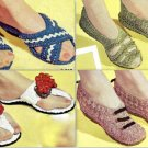 Lounging Slippers 4-Patterns Vintage 723051