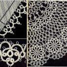 Edgings and Doily 3 Tatted Patterns Vintage 729009