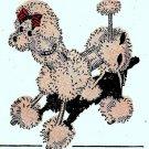 Pompon Poodle Pattern Vintage 722005