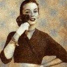 The Spencer shrug sweater Crochet Pattern 723072
