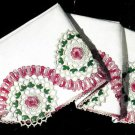Rambling Rose Pillow Case Crochet Pattern 723101
