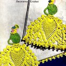 Pineapple Lady Pillow Case Crochet Pattern 723102