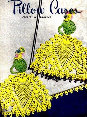 Pineapple Lady Pillow Case Crochet Pattern 723102