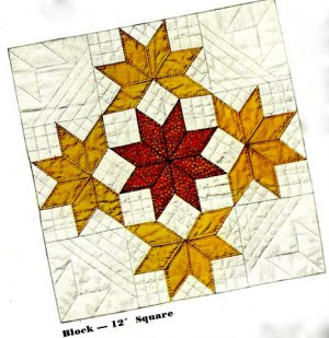 Yankee Pride Quilt Pattern/Instructions 721007