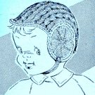Boy Baby's Helmet Knitting Pattern 726016