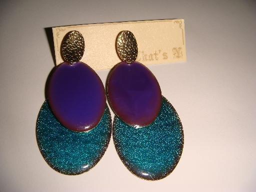 Cool Dangle Pierced Earrings