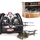 NEW SYMA S012 R/C HELICOPTER MINI APACHE AH-64 ARMY
