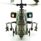 SYMA S009 R/C AH-64 Apache 3CH ARMY Helicopter GREAT FUN