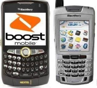 CD to Convert & Use Blackberry 8350i/7100i on Boost