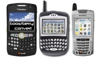 Convert NEXTEL Blackberry 8350i/7100i To Boost Mobile and keep PTT/DC