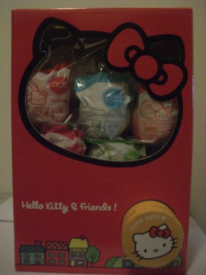 Twisting Ball Machine: McDonald's 2007 Hello Kitty&Friends