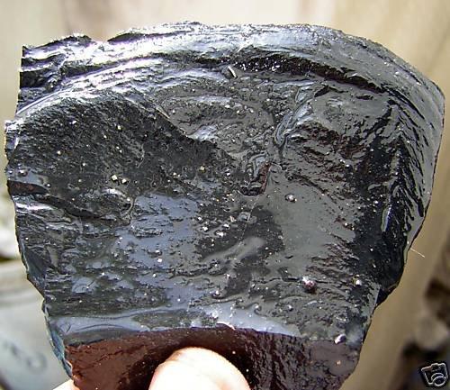 BLACK JADE 70gr. MINER MINING MINERAL PJ