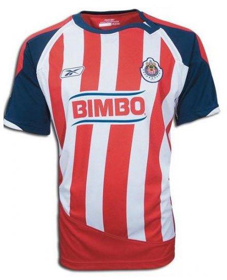 18b37d5ea8a REEBOK Bimbo CHIVAS HOME Jersey shirt GUADALAJARA 2009 Men Large